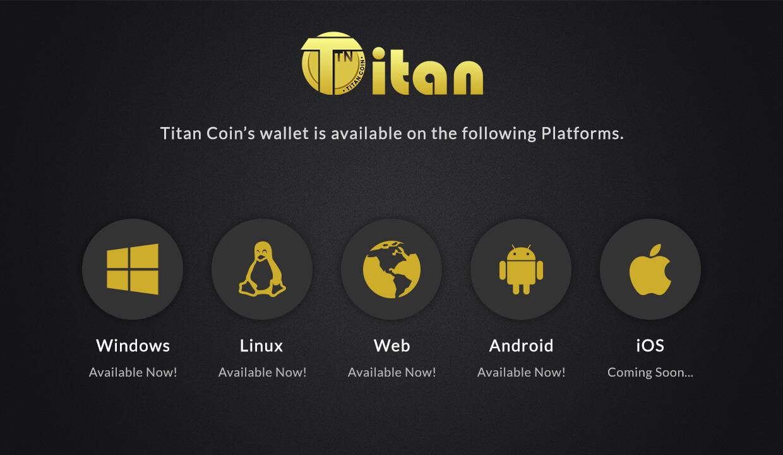 Download Titan Coin (TTN) Wallet